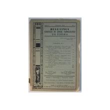 BULETINUL SOCIETATII FARMACEUTICE DIN ROMANIA , ANUL V , NR. 1 , IANUARIE , 1940