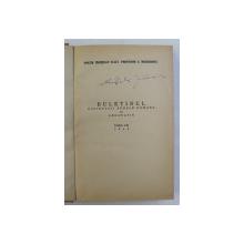 BULETINUL SOCIETATII REGALE ROMANE DE GEOGRAFIE , TOMUL LXI , 1942