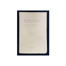 BULETINUL SOCIETATII REGALE ROMANE DE GEOGRAFIE , TOMUL XLII 1923 , APARUTA 1924