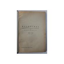 BULETINUL SOCIETATII REGALE ROMANE DE GEOGRAFIE , TOMUL XLIII si TOMUL XLIV, COLEGAT DE DOUA VOLUME  , 1924 - 1925