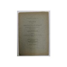 BULLETIN DE LA SECTION HISTORIQUE , TOME XI , CONGRES DE BYZANTINOLOGIE DE BUCAREST - MEMOIRES , MANUEL II - PALEOLOGUE ET LES ROIS D 'ARAGON ,1924