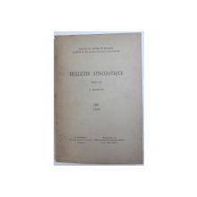 BULLETIN LINGUISTIQUE , publie par A . ROSETTI , No. XIII , 1945