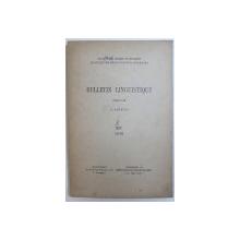 BULLETIN LINGUISTIQUE , publie par A . ROSETTI , No. XIV , 1946