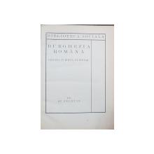 BURGHEZIA ROMANA, ORIGINA SI ROLUL EI ISTORIC de ST. ZELETIN - BUCURESTI, 1925