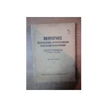 BURUIENILE VATAMATOARE SEMANATURILOR FANETELOR SI PASUNILOR , MIJLOACELE INTREBUINTATE PENTRU COMBATEREA LOR , LIVEZIREA NATURALA de IULIU PRODAN , 1946