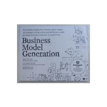 BUSINESS MODEL GENERATION by ALEXANDER OSTERWALDER and YVES PIGNEUR , 2010