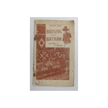BUSUIOC DE LA BATRANI-NICOLAE ARGES  BUCURESTI 1924
