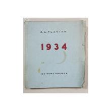 C. L. FLAVIAN, 1934 - BUCURESTI, 1935