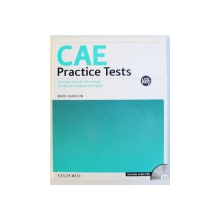 CAE PRACTICE TESTS  - FOUR NEW TESTS FOR THE REVISED CERTIFICATE IN ADVANCED ENGLISH , WITH KEY by MARK HARRISON , 2008 , INCLUDES AUDIO CD s *