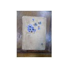 Caiet manuscris colectia familiei Zoe Mandrea nepoata a lui Nicolae Balcescu