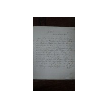Caiet manuscris limba germana, Craiova 1898