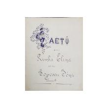 Caiet manuscris pentru limba elena al lui Popescu Ion, Clasa III