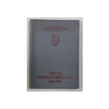 CAIETUL PROPAGANDISTULUI 1988 - 1990