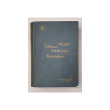CALAUZA CETATEANULUI DE MATERIE JUDICIARA - IOAN RADOI   BUC. 1900