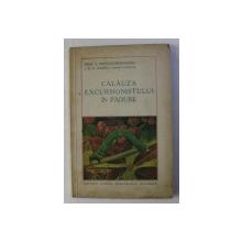 CALAUZA EXCURSIONISTULUI IN PADURE de A . POPOVICI - BAZNOSANU , 1935 , DEDICATIE*