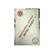 Calendarul istoric pentru romani 1938  N.Iorga