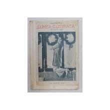 CALENDARUL ' LUMEA ILUSTRATA  ' PE ANUL 1932 , COPERTELE REFACUTE *