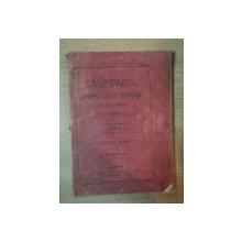 CALINDARUL POPORULUI ROMAN, PE ANUL COMUN 1905, ANUL III, BUDAPESTA