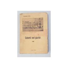 CALVARUL UNUI GAZETAR de GHEORGHE STOICA , 1934 , PREZINTA HALOURI DE APA *