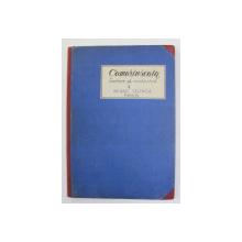 CAMARINSCAIA - FANTEZIE PENTRU ORCHESTRA de MIHAIL GLINCA , PARTITURA , MANUSCRIS  , ANII '40
