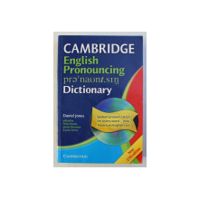 CAMBRIDGE ENGLISH PRONOUNCING DICTIONARY by DANIEL JONES , 2006 , CONTINE CD*