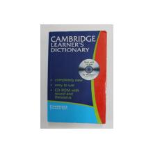 CAMBRIDGE LEARNER 'S DICTIONARY , 2002 , LIPSA CD *