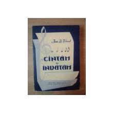CANTAM SI INVATAM de ION I. VICOL , 1962