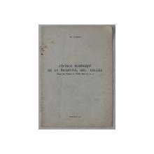 CANTECE ROMANESTI DE LA INCEPUTUL SECOLULUI XIX - LEA de GH. CIOBANU  - EXTRAS DIN REVISTA DE FOLCLOR , ANUL II , NR.  4  , 1958