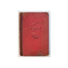 CANTURI VOCALE SI INSTRUMENTALE , CAIET CU PARTITURI , MANUSCRIS , 1898 - 1899