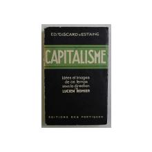 CAPITALISME par GISCARD D ' ESTANG , 1931