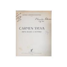 CARMEN SYLVA PRIMA REGINA A ROMANIEI de LUCRETIA CARANDINO-PLATAMONA - BUCURESTI, 1936 *DEDICATIE