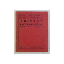 CARNETS LITTERAIRES SERIE COSMOPOLITE , TRISTAN par THOMAS MANN