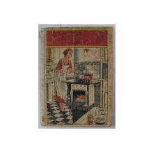 CARTE DE BUCATE ' FLORICA 'aranjata de D-NA AUGUSTA SARARIU , 1934 , PREZINTA URME DE UZURA *