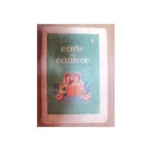 CARTE DE CANTECE PENTRU CLASA IV SECUNDARA DE BAIETI SI FETE de G. BREAZUL 1933