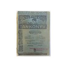 CARTE DE CETIRE  - TAKONNYV  (  CARTE DE  CITIRE IN LIMBA MAGHIARA ) , 1930
