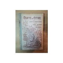 CARTE DE CITIRE PENTRU CLASA  II - A PRIMARA URBANA de P . DULFU , GH. I. CHELARU , EDITIA I - A , BUCURESTI