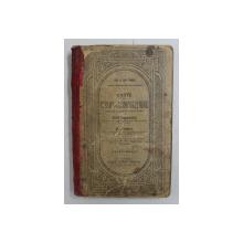 CARTE DE CITIRE SI COMPOZITIUNE PENTRU CLASA IV SECUNDARA de MIHAIL DRAGOMIRESCU si GH. ADAMESCU - 1907