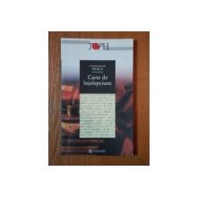 CARTE DE INTELEPCIUNE de CONSTANTIN NOICA, 2001