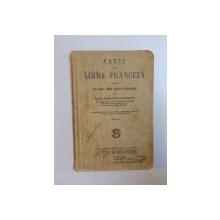 CARTE DE LIMBA FRANCEZA PENTRU CLASA VIII - a SECUNDARA de ELENA RADULESCU POGONEANU , ED. I a