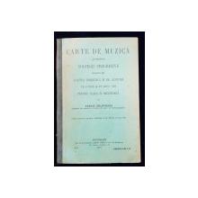 CARTE DE MUZICA CUPRINZAND SOLFEGII PROGRESIVE PENTRU CLASA II SECUNDARA de VASILE SOLOVEANU - BUCURESTI, 1912