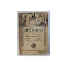 CARTE DE MUZICA PENTRU CLASA V - A SECUNDARA de GR. MAGIARI si N . LUNGU , 1935