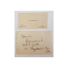 "Carte de vizita ""K. H. Zambaccian"""