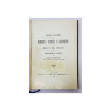 CARTE DIN BIBLIOTECA REGELUI CAROL II   - CATEVA CUVINTE ASUPRA CONDITIEI JURIDICE A STRAINILOR IN MOLDOVA SI TARA ROMANEASCA de JEAN D. CONDURACHI , 1918