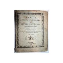CARTE FOARTE  FOLOSITOARE DE SUFLET -D.D.NIFON -BUC. 1853