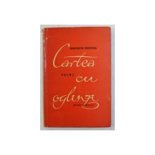 CARTEA CU OGLINZI  - poeme de CONSTANTIN NISIPEANU , 1962 , DEDICATIE*