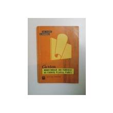 CARTEA MUNCITORULUI DIN FABRICILE DE FURNIR , PLACAJ , PANEL de GH. PANA , D. MARINESCU , 1965