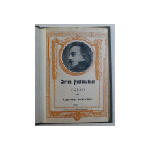 CARTEA NESTEMATELOR. POESII de ALEXANDRU MACEDONSKI, PRIMA EDITIE  1923