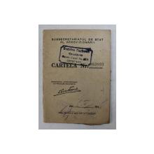 CARTELA DE ALIMENTE , ELIBERATA DE SUBSECRETARIATUL DE STAT AL APROVIZIONARII , PE NUMELE CUSUTA HORIA  , CONSTANTA , 5 FEBRUARIE 1945