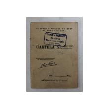 CARTELA DE ALIMENTE , ELIBERATA DE SUBSECRETARIATUL DE STAT AL APROVIZIONARII , PE NUMELE CUSUTA MARIA , CONSTANTA , 5 FEBRUARIE 1945