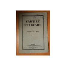 CARTILE FUNDUARE de STEFAN LADAY, 1923